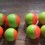 custom stones yellow orange