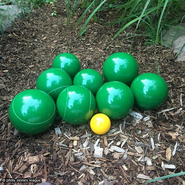 stones team set of 8 - green