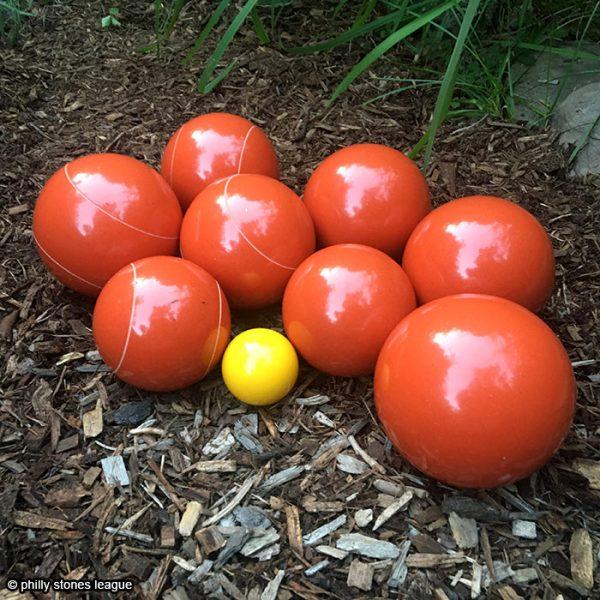 stones team set of 8 – orange
