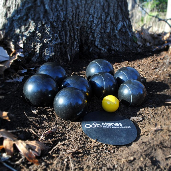 stones team set of 8 - black