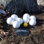 stones team set of 8 – white